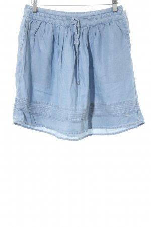 Tommy Hilfiger High Waist Rock himmelblau Casual-Look