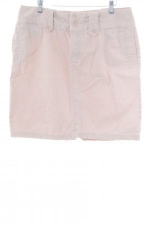 Tommy Hilfiger High Waist Rock rosé Casual-Look