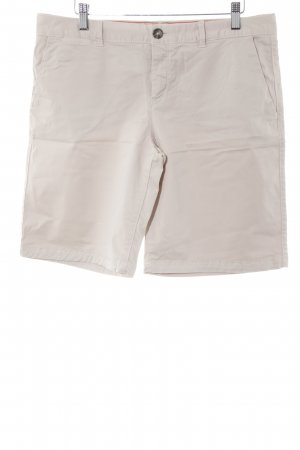 Tommy Hilfiger High-Waist-Shorts beige-camel Casual-Look