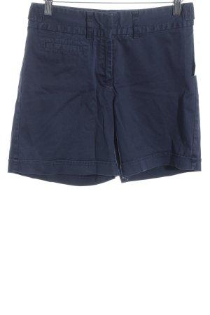 Tommy Hilfiger High-Waist-Shorts dunkelblau schlichter Stil
