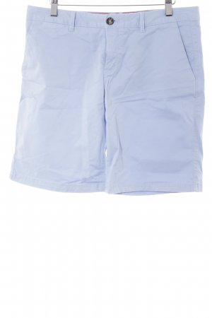 Tommy Hilfiger High-Waist-Shorts himmelblau Casual-Look