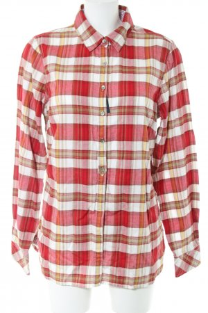 Tommy Hilfiger Lumberjack Shirt red-natural white check pattern business style