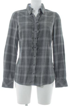 Tommy Hilfiger Holzfällerhemd grau-dunkelgrau Karomuster Casual-Look