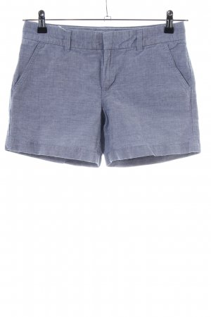 Tommy Hilfiger Hot Pants blue-natural white weave pattern casual look