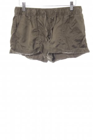 Tommy Hilfiger Hot Pants olivgrün Casual-Look