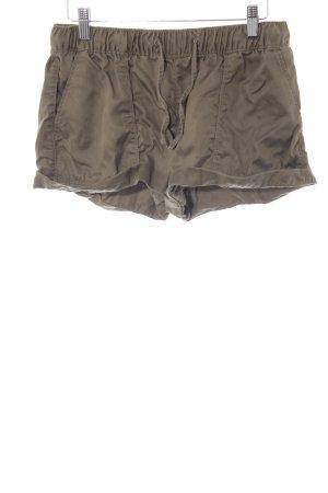 Tommy Hilfiger Hot Pants olivgrün Casual-Look