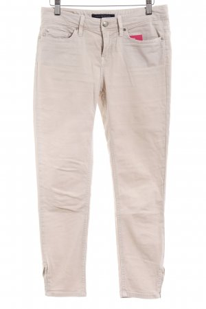 Tommy Hilfiger Low-Rise Trousers beige mixture fibre