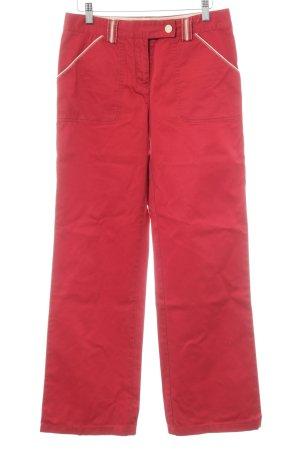 Tommy Hilfiger Hüfthose dunkelrot-creme Vintage-Look