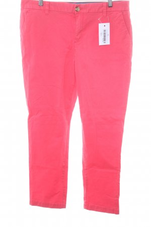 Tommy Hilfiger Low-Rise Trousers bright red casual look