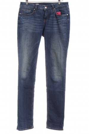 Tommy Hilfiger Hüftjeans dunkelblau Jeans-Optik