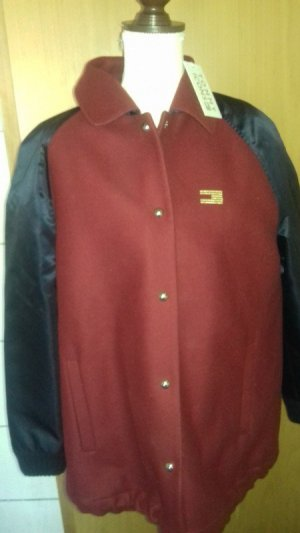 Tommy Hilfiger Wool Jacket bordeaux-dark blue