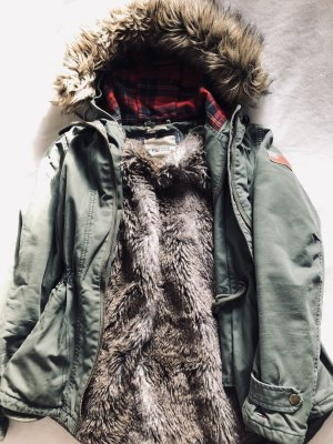 Tommy Hilfiger Jacke Winter Neu Ungetragen XS Ausverkauft S Army Khaki