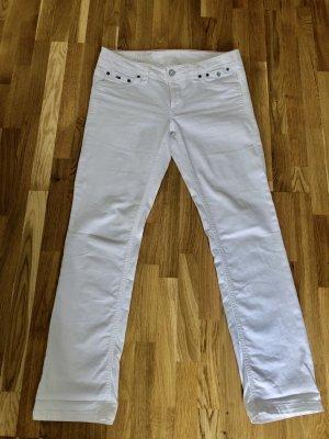 Tommy Hilfiger Denim Jeans taille basse blanc