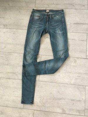 Tommy Hilfiger Denim Jeans cigarette gris ardoise-bleu pâle