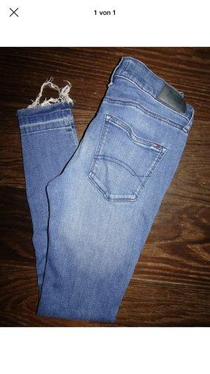 Tommy Hilfiger Tube jeans korenblauw