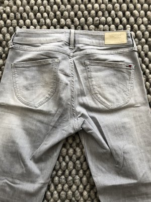 Tommy Hilfiger Low Rise Jeans light grey