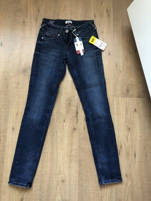 Tommy Hilfiger Denim Stretch jeans donkerblauw