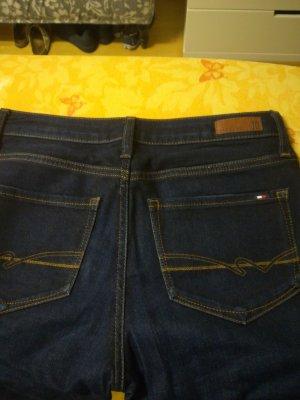 Tommy Hilfiger Denim Pantalón de cinco bolsillos azul oscuro