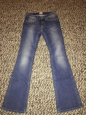 Tommy Hilfiger Boot Cut Jeans blue cotton