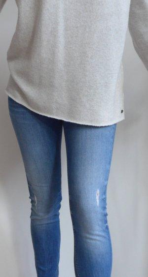Tommy Hilfiger Jeans, blau, Skinny, Used Look Gr. 29/32