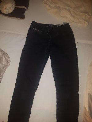 Tommy Hilfiger Pantalone a vita bassa nero