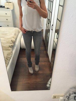 Tommy Hilfiger Denim Jeans met rechte pijpen grijs-lichtgrijs