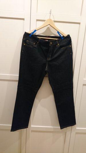 Tommy Hilfiger 7/8-jeans donkerblauw Katoen