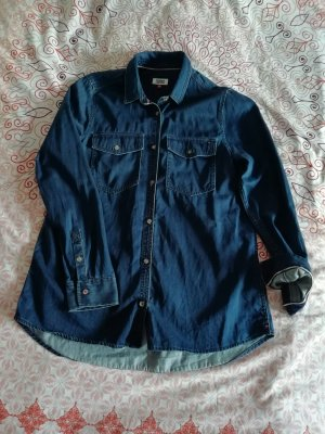 Tommy Jeans Camisa vaquera azul