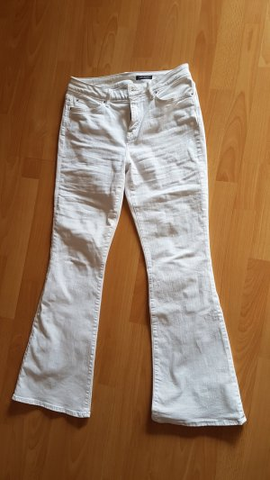 Tommy Hilfiger Jeans, high waist, flared, weiß