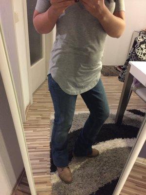 Tommy Hilfiger Jeans Knopfleiste Boyfriend Hose gerader schnitt