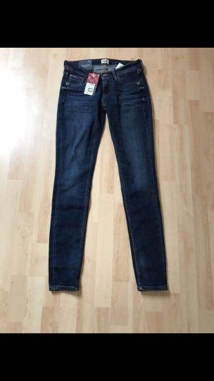 Tommy Hilfiger Skinny jeans staalblauw-blauw