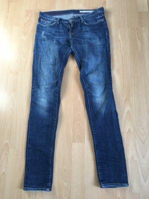 Tommy Hilfiger Jeans Röhrenjeans Nina Skinny W28 L32 38 Hose blau