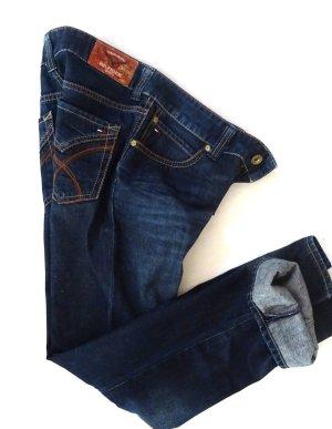 Tommy Hilfiger Boot Cut Jeans blue cotton