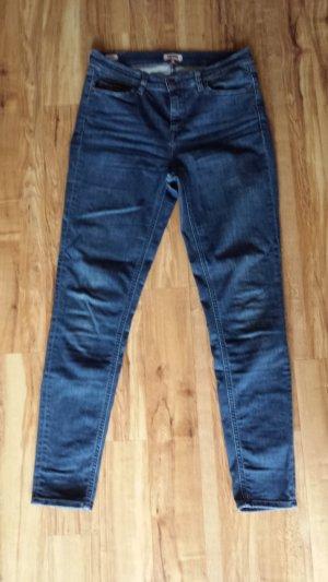 Tommy Hilfiger Jeans cigarette bleu