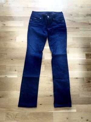 Tommy Hilfiger Stretch broek blauw-donkerblauw