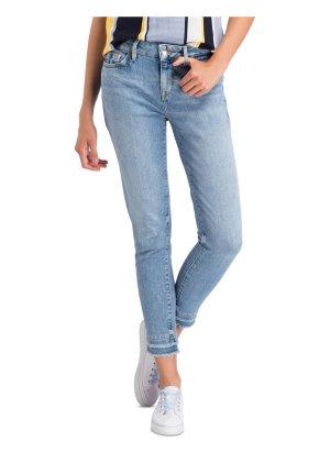 Tommy Hilfiger Jeans skinny bleu azur-bleu pâle coton