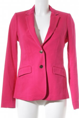Tommy Hilfiger Jeansblazer magenta-rostrot Business-Look