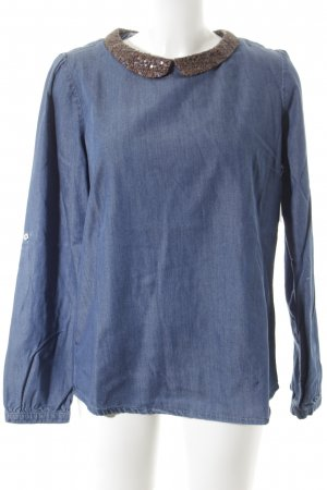 Tommy Hilfiger Jeansbluse blau Casual-Look
