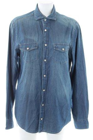 Tommy Hilfiger Camisa vaquera azul look casual