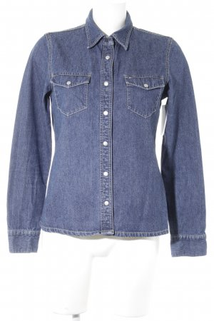 Tommy Hilfiger Jeanshemd blau Casual-Look