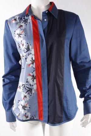 Tommy Hilfiger Jeanshemd blau gemustert