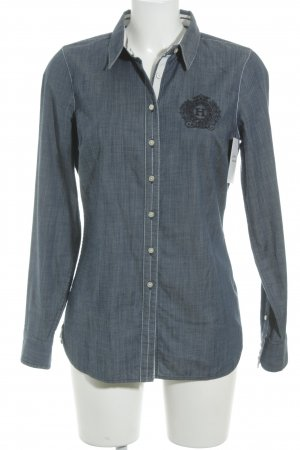 Tommy Hilfiger Jeanshemd graublau Casual-Look