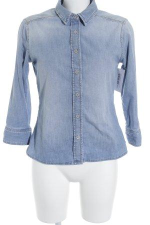 Tommy Hilfiger Jeanshemd himmelblau Jeans-Optik
