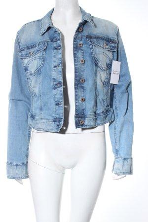 Tommy Hilfiger Jeansjacke hellblau-wollweiß Casual-Look