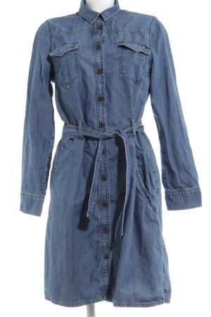Tommy Hilfiger Jeanskleid blau Casual-Look