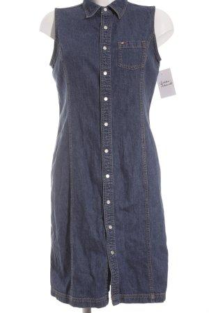 Tommy Hilfiger Jeanskleid blau Jeans-Optik