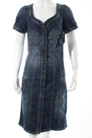 Tommy Hilfiger Jeanskleid dunkelblau Retro-Look