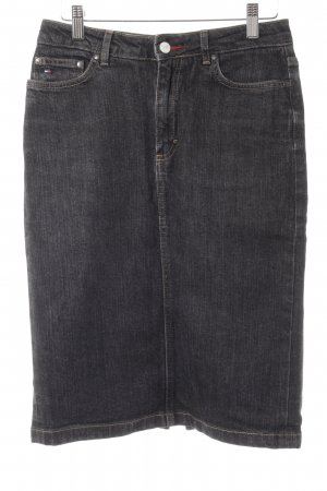 Tommy Hilfiger Jeansrock anthrazit Casual-Look