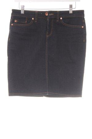 Tommy Hilfiger Gonna di jeans blu scuro stile casual