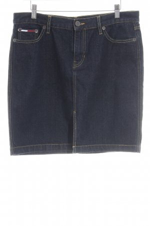 Tommy Hilfiger Jeansrock dunkelblau Casual-Look